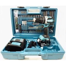 Makita DHP484STX5 18V Brushless Combi Drill with 1 x 5.0Ah Battery and Accessory Set in Case