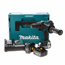 Makita DHP458RF3J 18V Combi Drill with 3x 3.0Ah Batteries in Makpac Case