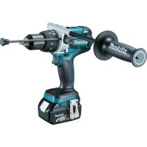 Makita DHP481RTJ 18V Brushless Combi Drill with 2x 5.0Ah Batteries in Makpac Case