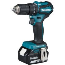 Makita DHP483RTJ 18V Brushless Combi Drill BL LXT with 2x 5.0Ah Batteries in Makpac Stacking Case