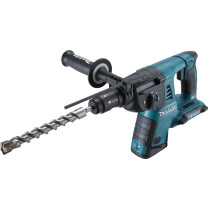 Makita DHR264ZJ Twin 18V Body Only Li-ion SDS Hammer Drill With Quick Change Chuck and Makpac case