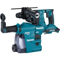 Makita Body Only DHR280ZWJ Twin 18v Brushless SDS Rotary Hammer Drill with Dust Extraction Unit