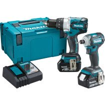 Makita DLX2214TJ 18V 2PC Brushless Combo Kit LXT with 18V 2-Piece Brushless Kit