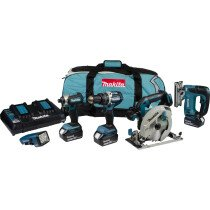 Makita DLX5043PT 18V 5-Piece Brushless Kit