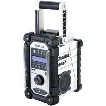 Makita DMR110 DAB/DAB+ Mains or Cordless Jobsite Radio White