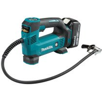 Makita DMP180RT1J 18V Inflator LXT with 1x 5.0Ah battery and DC18RC in Makpac Case