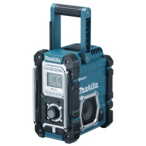 Makita DMR106 Body Only Blue AM/FM Site Radio with Bluetooth