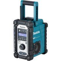 Makita DMR110 DAB/DAB+ Mains or Cordless Jobsite Radio Blue