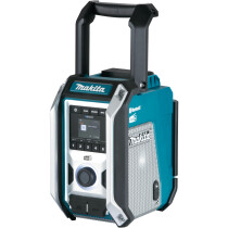 Makita DMR115 Blue DAB/DAB+ Mains or Cordless Job Site Radio with Bluetooth