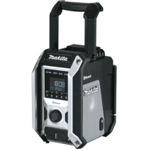 Makita DMR115B Black DAB/DAB+ Mains or Cordless Job Site Radio with Bluetooth