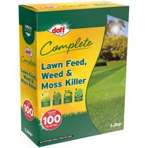Doff F-LM-100-DOF Complete Lawn Feed, Weed and Moss Killer 3.2kg (100 Sq Mtrs) DOFLM100