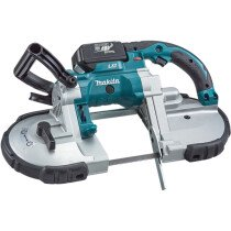 Makita DPB180RME 18v Li-ion Portable Bandsaw with 2 x Batteries, Charger & Case