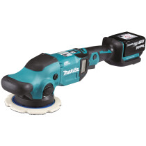 Makita DPO600Z 18v Random Orbit Polisher with 2 x 5.0Ah BAtteries