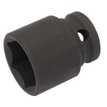 "Draper 06879 409-MMC Expert 19mm 3/8"" Square Drive Hi Torq 6 Point Impact Socket"