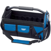Draper 31595 FTTB24 Expert 45 L Tote Tool Bag With Heavy Duty Base