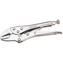 Draper 35370 9007A 140mm Straight Jaw Self Grip Pliers