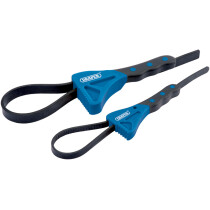 Draper 43863 SWR2 2 Piece Soft Grip Strap Wrench Set
