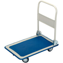 Draper 44005 FRT 150kg Platform Trolley With Folding Handle   630 X 480 X 850mm