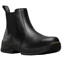Dr. Martens 6674 Drakelow ST Black Leather Upper S1P SRC HRO Safety Dealer Boot