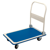 Draper 04692 FRT300 300kg Platform Trolley With Folding Handle   900 X 600 X 850mm
