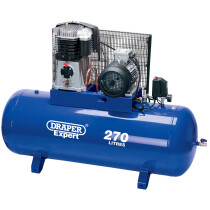 Draper 05638 DA270/841 Expert 270L 415V 5.5kW Belt Driven Air Compressor