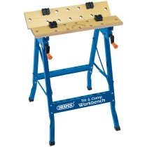 Draper 09951 WBTT600Y 600mm Tilt and Clamp Fold Down Workbench