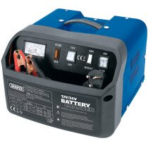 Draper 11953 BCD12 12/24V 12A Battery Charger