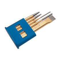 Draper 13042 5HB Expert 5 Piece Chisel and Punch Set