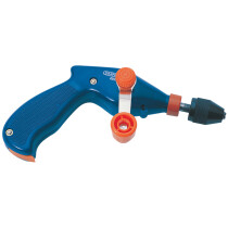 "Draper 13841 4899 8mm Or 3/8"" Chuck Pistol Grip Hand Drill"