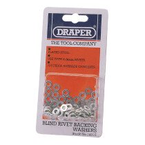 Draper 14015 RIV/W 100 X 4mm Rivet Backing Washers