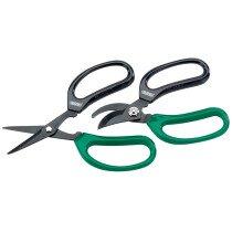 Draper 18299 GS/TP2 2 Piece Soft Grip Garden Scissor Set
