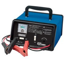 Draper 20492 BCD9 6/12V 8.4A Battery Charger