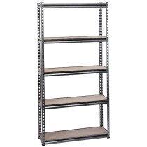 Draper 21659 MSUHD183 Expert Heavy Duty Steel Shelving Unit   Five Shelves (L920 X W3...