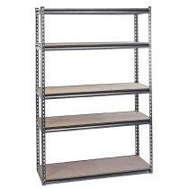 Draper 21663 MSUHD183 Expert Heavy Duty Steel Shelving Unit   Five Shelves (L1220 x W450 x H1830mm)