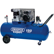 Draper 22463 DA150/365C 150L 230V 2.2kW Belt Driven Air Compressor