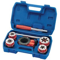 Draper 22498 PTK/2 7 Piece Imperial Ratchet Pipe Threading Kit