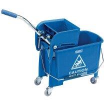Draper 24838 MBW20 20L Kentucky Mop Bucket with Wringer
