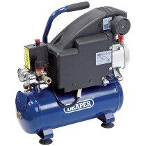 Draper 24975 DA8/118 8L 230V 0.75kW Air Compressor