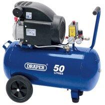Draper 24981 DA50/207 50L 230V 1.5kW Air Compressor
