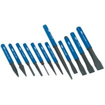 Draper 26557 CP12NP 12 Piece Cold Chisel and Punch Set