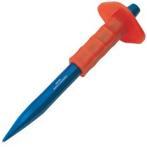 Draper 26766 BD10G/A 300 X 16mm Point Chisel With Hand Guard