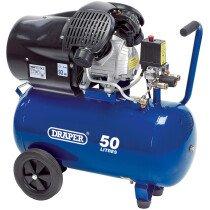 Draper 29355 DA50/412TV 50L 230V 2.2kW V-Twin Air Compressor