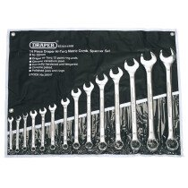 Draper 29547 8220/14/MM 14 Piece Metric Combination Spanner Set