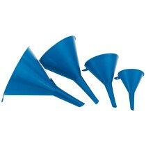 Draper 43853 FS4 4 Piece Plastic Funnel Set