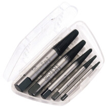 Draper 45856 1B Expert Schroder 5 Piece Screw Extractor Set