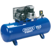 Draper 69337 DA150/392B Expert 150L 230V 2.2kW Stationary Belt Driven Air Compressor