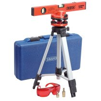 Draper 69580 LLK2 400mm Laser Level Kit With 360 Swivelling Tripod