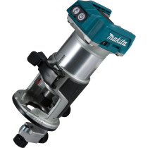 Makita DRT50ZX4 Body Only 18v Brushless Router/Trimmer + Trimmer Guide