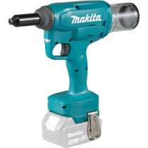 Makita DRV250Z 18v Body Only Rivet Gun with 4.8-6.4mm Nose Pieces