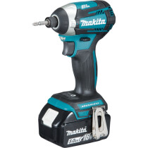 """Makita DTD154RTJ 18v Brushless Impact Driver with """"T"""" Mode (2 x 5Ah Batteries)"""